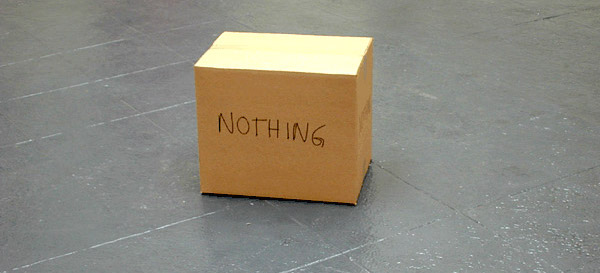 Image result for the nothing box