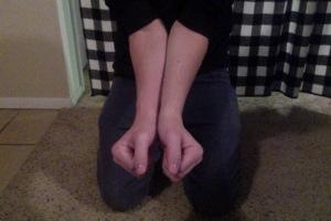 duct tape wrist