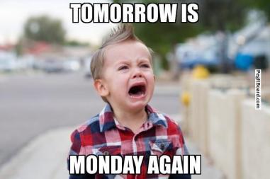 tomorrow is monday